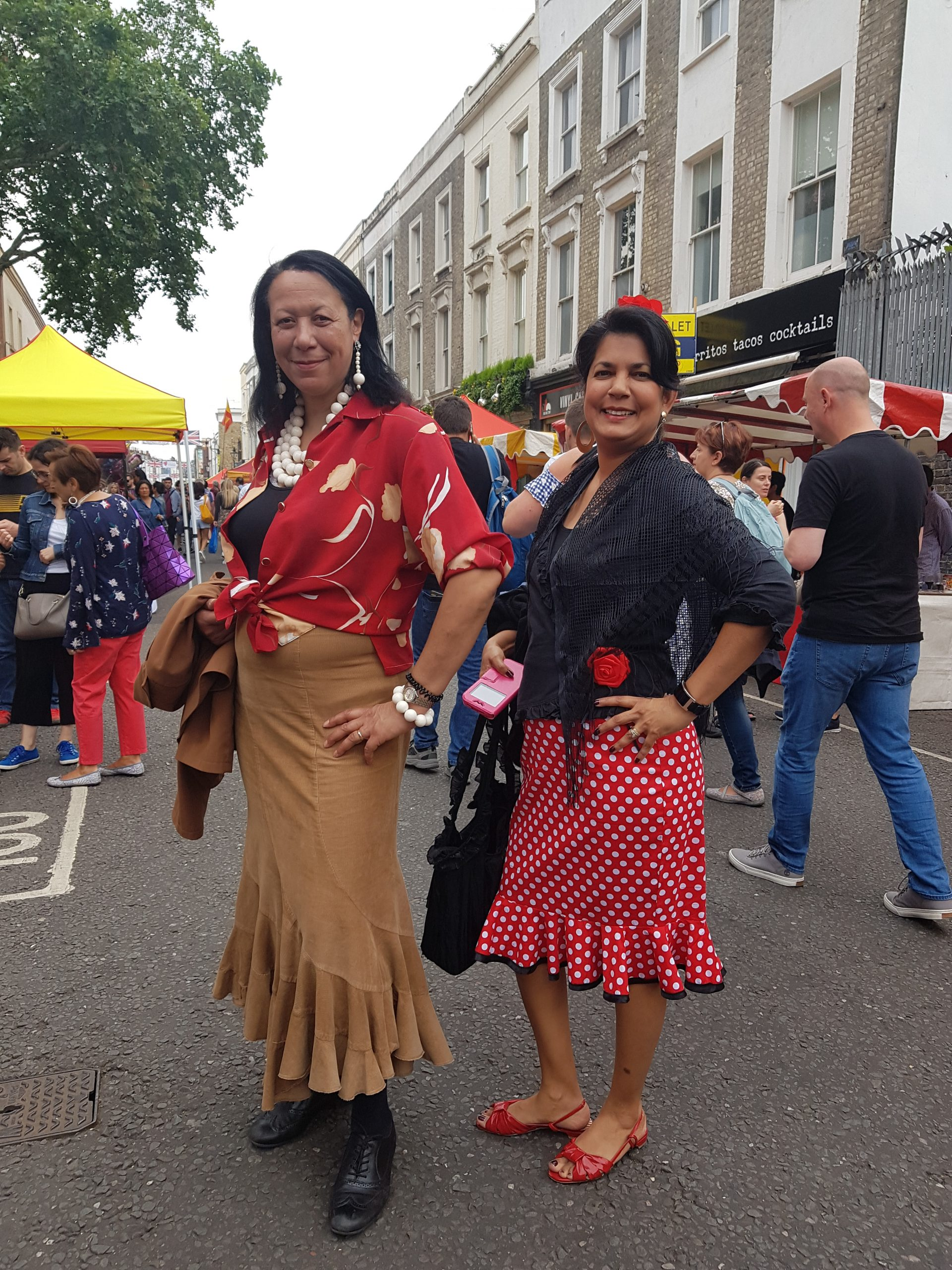 Get dressed up for the Portobello and Manchester Spanish Festivals 2020