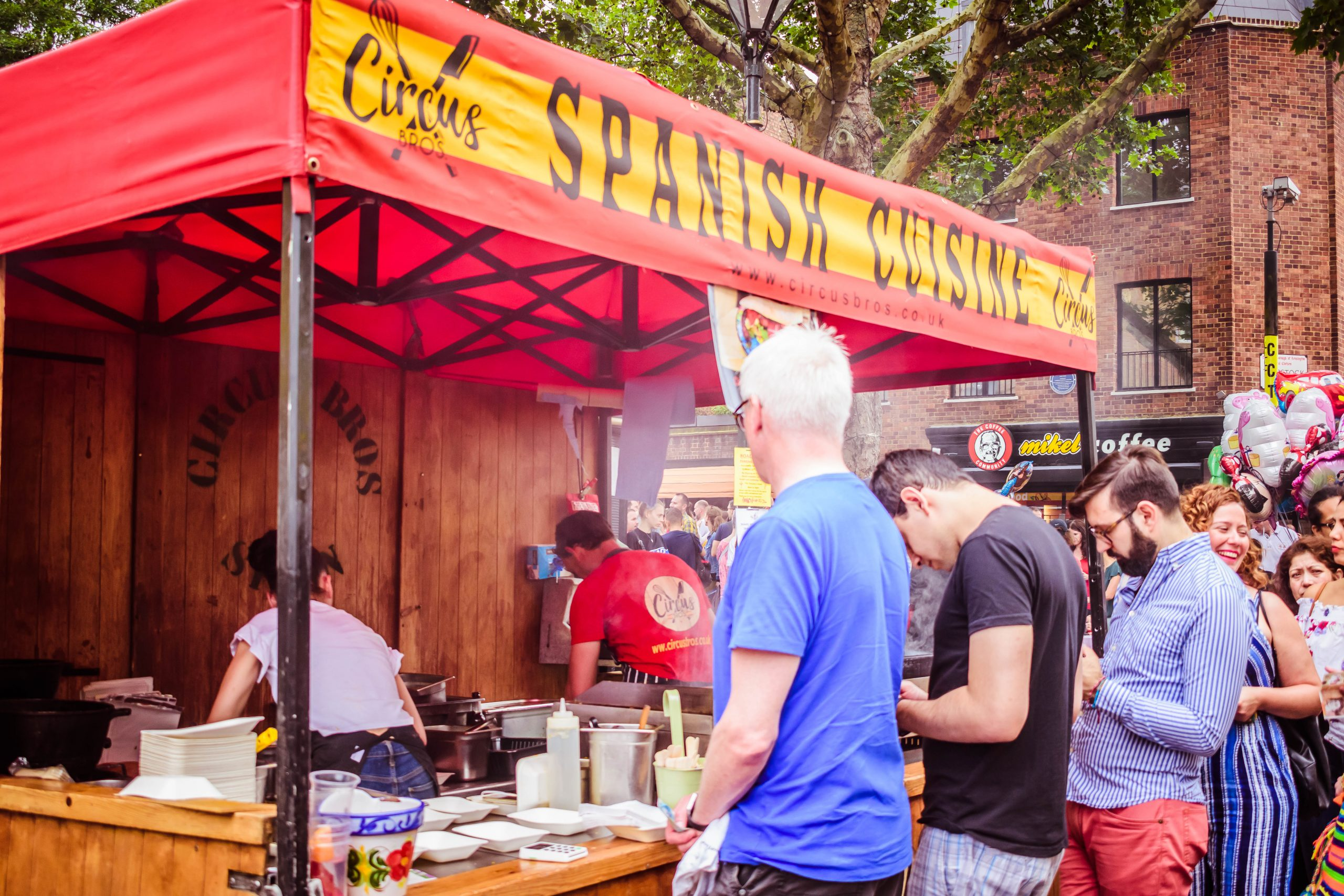 Eat authentic Spanish Food in London